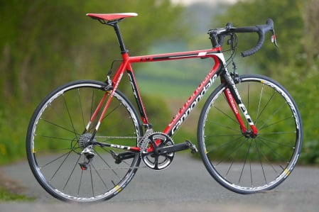 Superkoopje Cannondale Supersix Evo Red 22