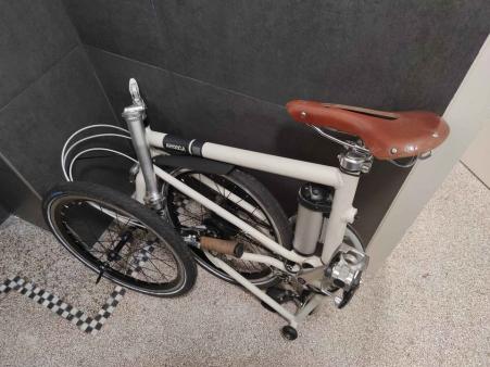 Ahooga Folding Bike 2018
