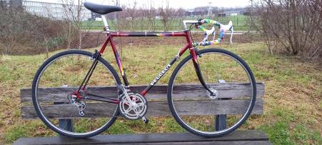 Peugeot Vintage Race bike 1981