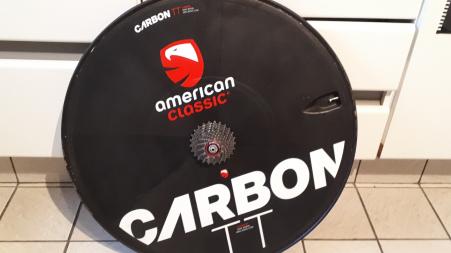 Tijdritwiel AmericanClassic + tube + 11s cassette