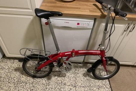 Vélo pliable 3 vitesses