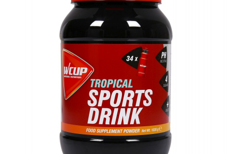 Wcup Sports Drink - Tropical - 480gr