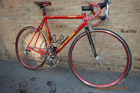 Cannondale CAAD retro racefiets maat 56