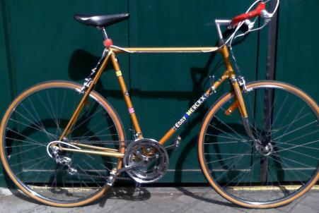 Vélo course Eddy Merckx 1969 rareté