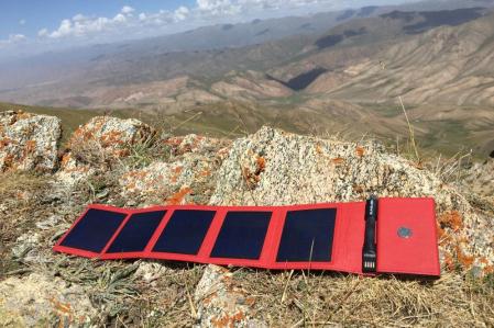 Sunslice Photon - solar powerbank