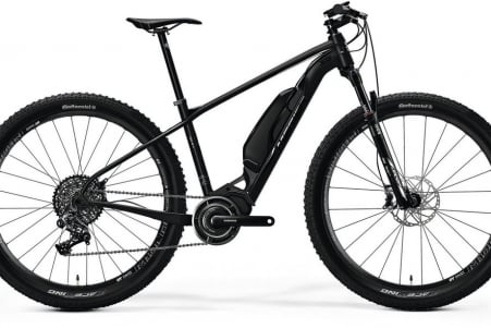 Merida E-big Nine 900 Matt Black/glossy Black L 48cm