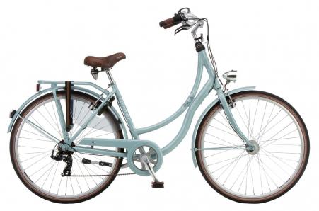 Oxford Bikes Papillon 7v Dame 50 Zilverblauw