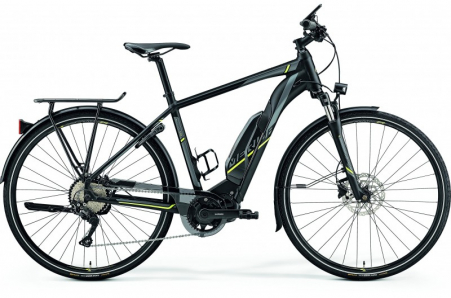 Merida E-spresso 500 Matt Black/neon Yellow Xl 59cm