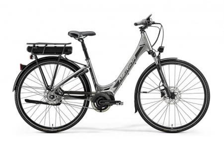 Merida E-spresso City 700 Eq Shiny Dark Silver/black S 46c