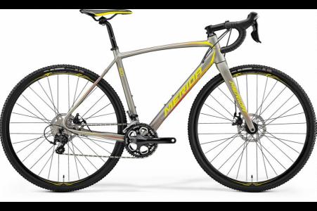 Merida Cyclo Cross 400 Silk Titan/yellow/red M-l-54cm