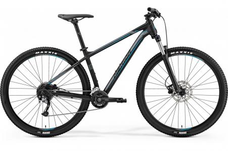 Merida Big Nine 200 Matt Black/silver/blue L 18.5