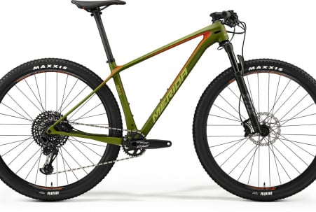 Merida Big Nine 6000 Matt Olive/red/black L 19