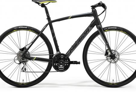 Merida Speeder 100 Matt Black/yellow/grey S-m 52cm