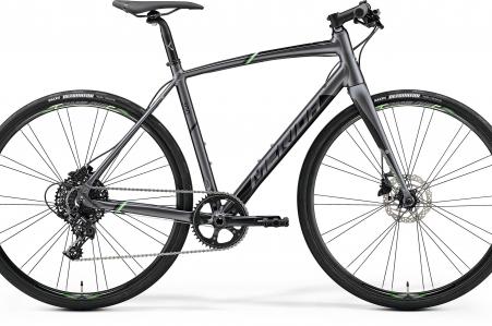 Merida Speeder 300 Silk Anthracite/green/black L 56cm