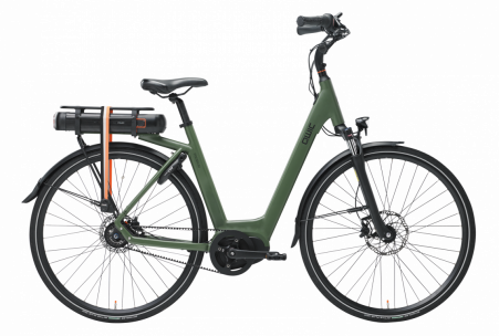 Qwic Premium Mn8 Belt Mt4 Bafang Female L Army Green