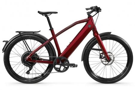 Stromer St1 Sport L Deep Red + Bq814