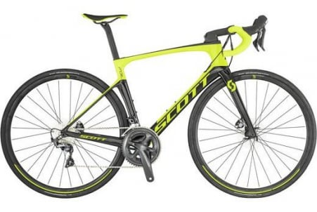 Scott Foil 20 Disc Yellow/black (eu) M54