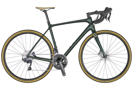 Scott Addict 10 Disc Green (kh) L56