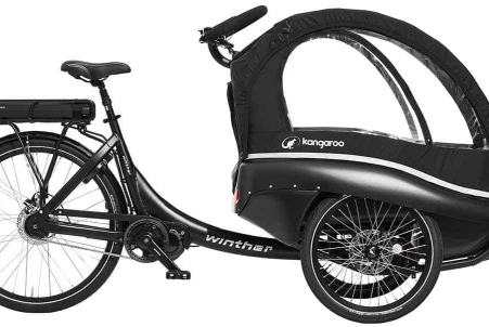 Winther E-kangaroo Lux All Black