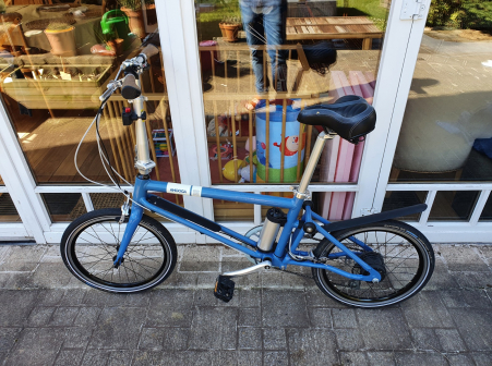 Ahooga Folding e-Bike 2017