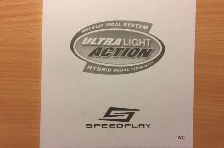 Speedplay Ultra Light Action Chrome-Moly Pedalen zwart