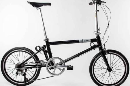 AHOOGA FOLDING BIKE PUSH COMFORT