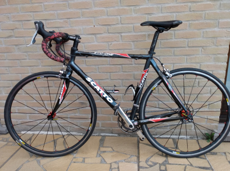 scatto  evo one carbon alu maat 54