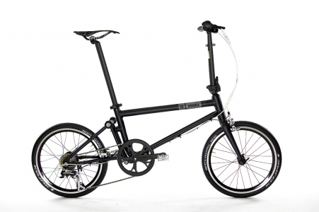 Ahooga Push Bike Chrome Glossy Dark Grey