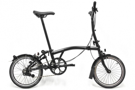 Brompton Black Edition S6rn Shi Gloss Black Sps