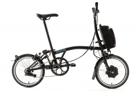 Brompton Electric H6ln Zwart Tel Demo