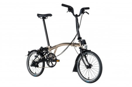 Brompton H2ln Bat Nickel Black Edition