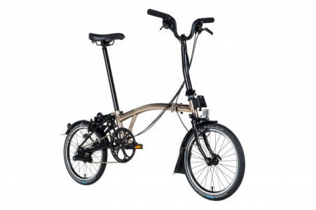 Brompton H6rn Shi Nickel Black Edition