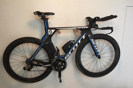 Tijdrit fiets Scott plasma 5 2017