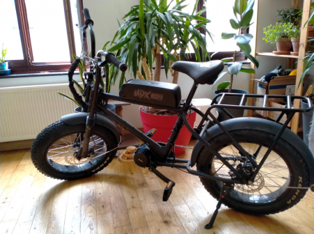 Urban Drivestyle UDX Electric Fatbike 1500W (XOPPA FRAME) 2021