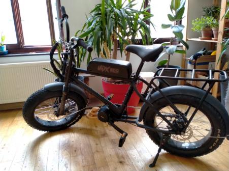 Urban Drivestyle UDX Electric Fatbike 1500W (XOPPA FRAME) 2020