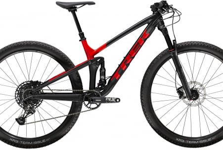 Trek Top Fuel 8 Nx Ml Matte Trek Black/gloss Viper Red