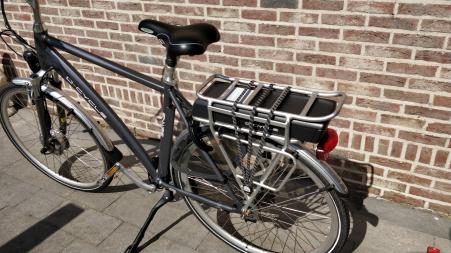 E-Bike herenfiets van het merk d-cycle