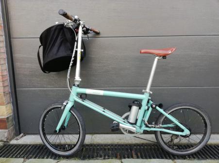 Ahooga Electric Folding Bike 2016