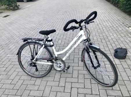 KS Cycling VTC DAME 28\'\' VEGAS BLANC MULTI TC 53 CM KS CYCLING 2021