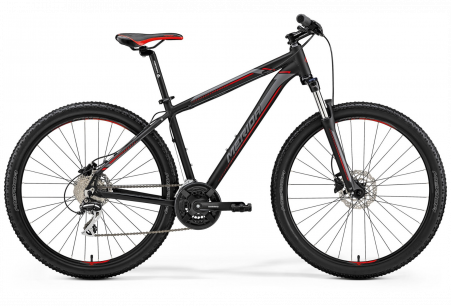 Merida Big Seven 20 Matt Black/red/silver S 15