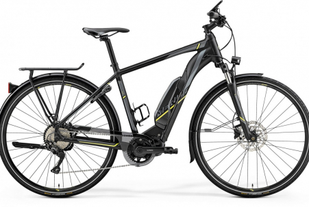 Merida E-spresso 500 Matt Black/neon Yellow L 55cm