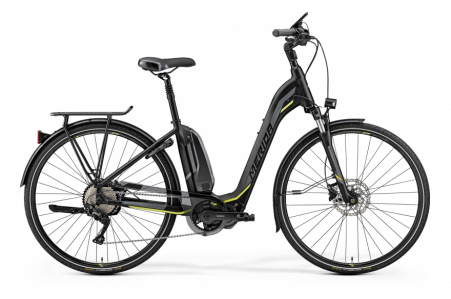 Merida E-spresso City 500 Matt Black/neon Yellow L 53cm