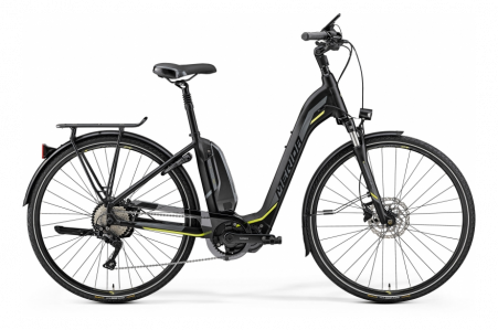 Merida E-spresso City 500 Matt Black/neon Yellow M 49cm