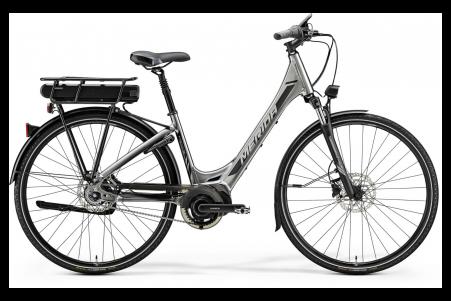 Merida E-spresso City 700 Eq Shiny Dark Silver/black S 46c