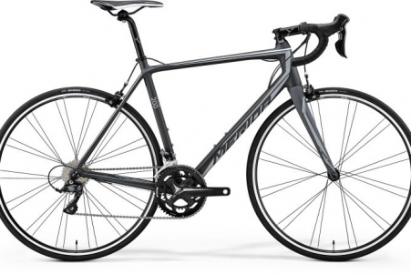 Merida Scultura 200 Matt Dark Grey/grey/white M-l 54cm