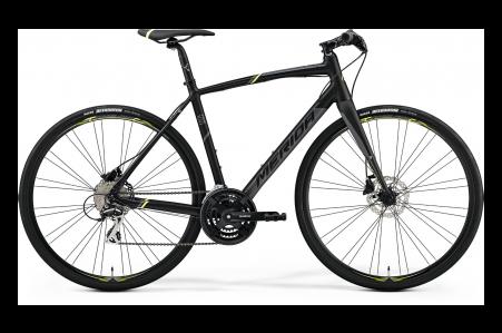 Merida Speeder 100 Matt Black/yellow/grey M-l 54cm