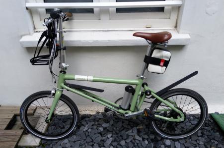 Ahooga Folding Bike 2018 - elektrische plooifiets
