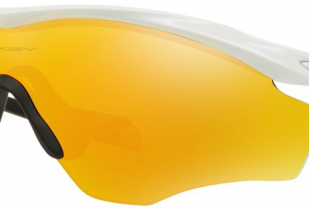 Oakley M2 Frame Xl Polished White W/ Firebird