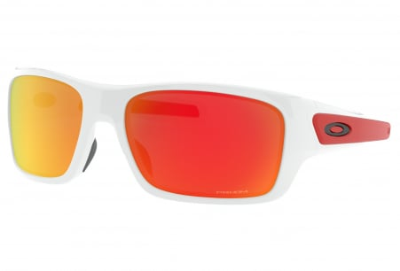 Oakley Turbine Xs Polished White W/ Prizm Ruby (youth Fit)