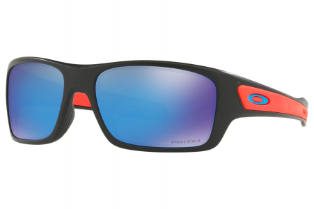 Oakley Turbine Xs Matte Black W/ Prizm Sapph (youth Fit)